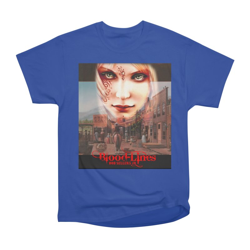 Blood-Lines Men's Heavyweight T-Shirt by sellersjr's Artist Shop