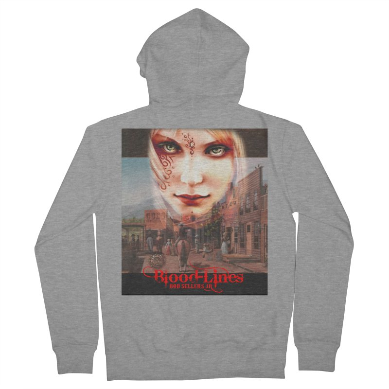 Blood-Lines Women's French Terry Zip-Up Hoody by sellersjr's Artist Shop