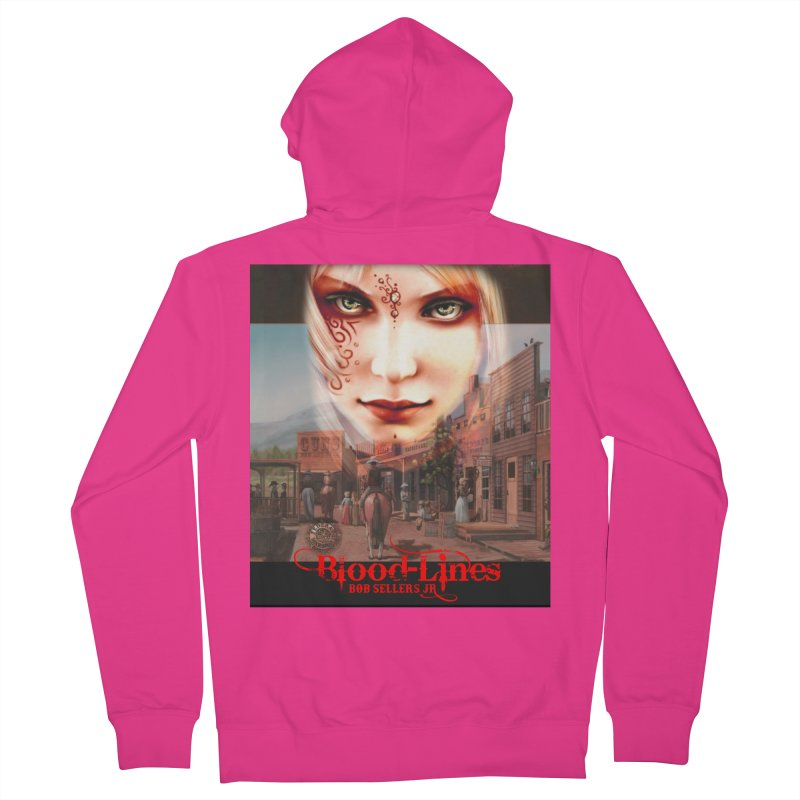 Blood-Lines Men's French Terry Zip-Up Hoody by sellersjr's Artist Shop