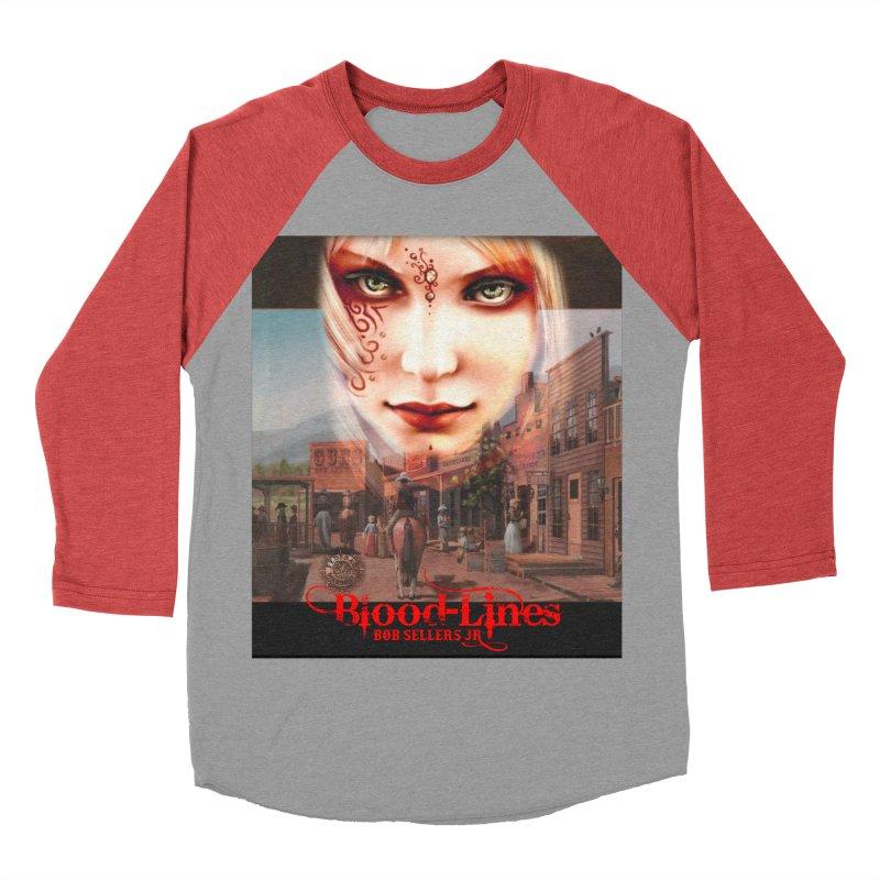 Blood-Lines Women's Baseball Triblend Longsleeve T-Shirt by sellersjr's Artist Shop