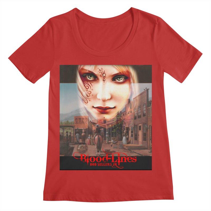 Blood-Lines Women's Regular Scoop Neck by sellersjr's Artist Shop