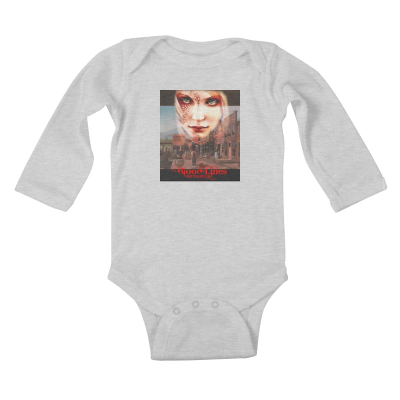Blood-Lines Kids Baby Longsleeve Bodysuit by sellersjr's Artist Shop