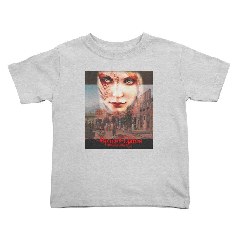 Blood-Lines Kids Toddler T-Shirt by sellersjr's Artist Shop