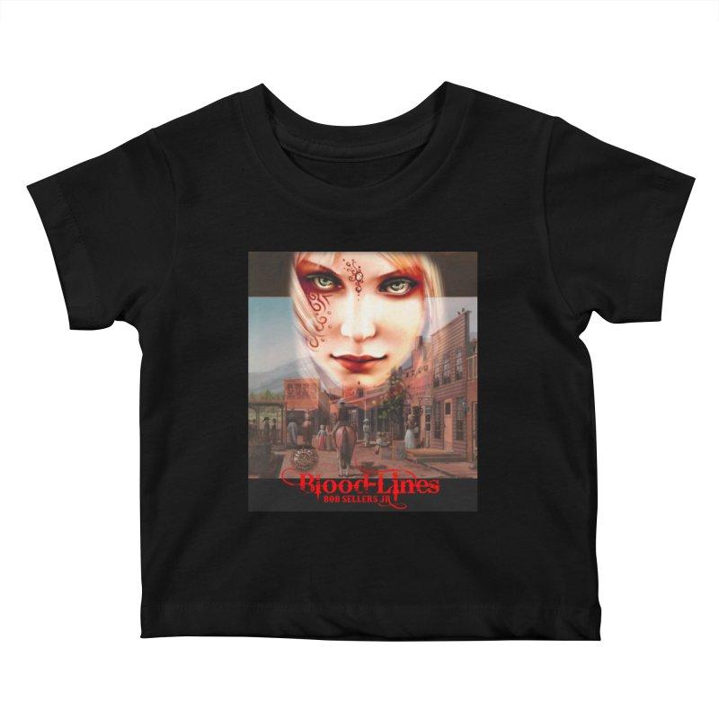 Blood-Lines Kids Baby T-Shirt by sellersjr's Artist Shop