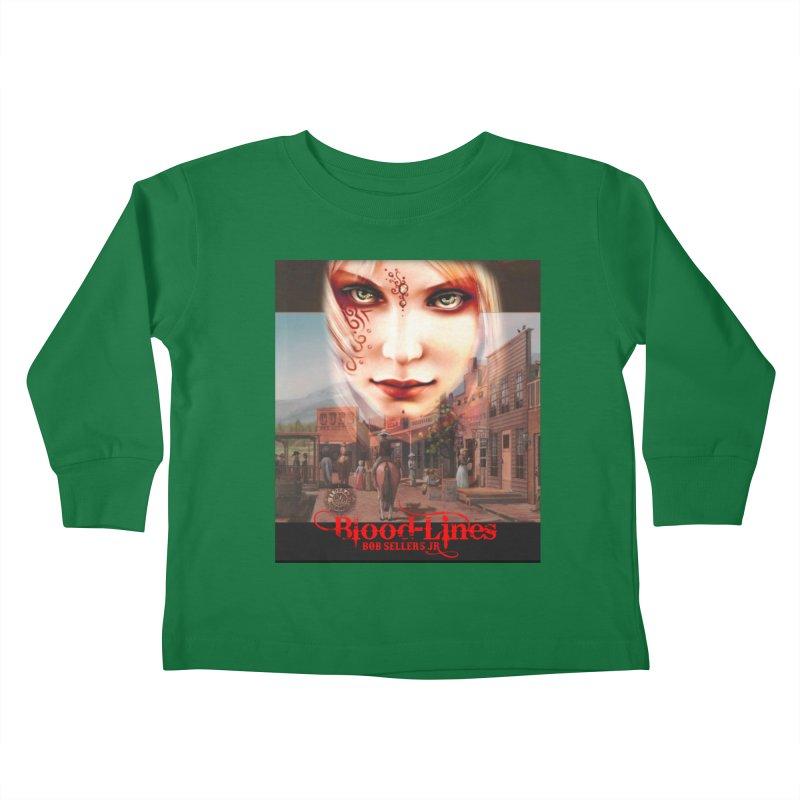 Blood-Lines Kids Toddler Longsleeve T-Shirt by sellersjr's Artist Shop
