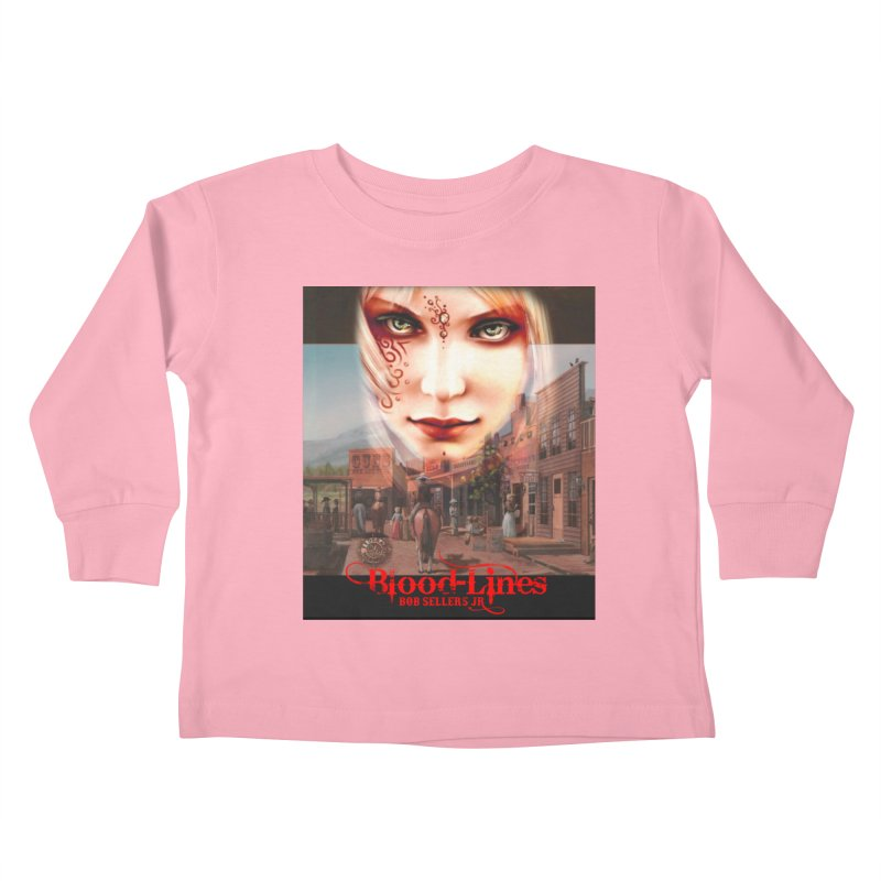 Blood-Lines Kids Toddler Longsleeve T-Shirt by sellersjr's Artist Shop