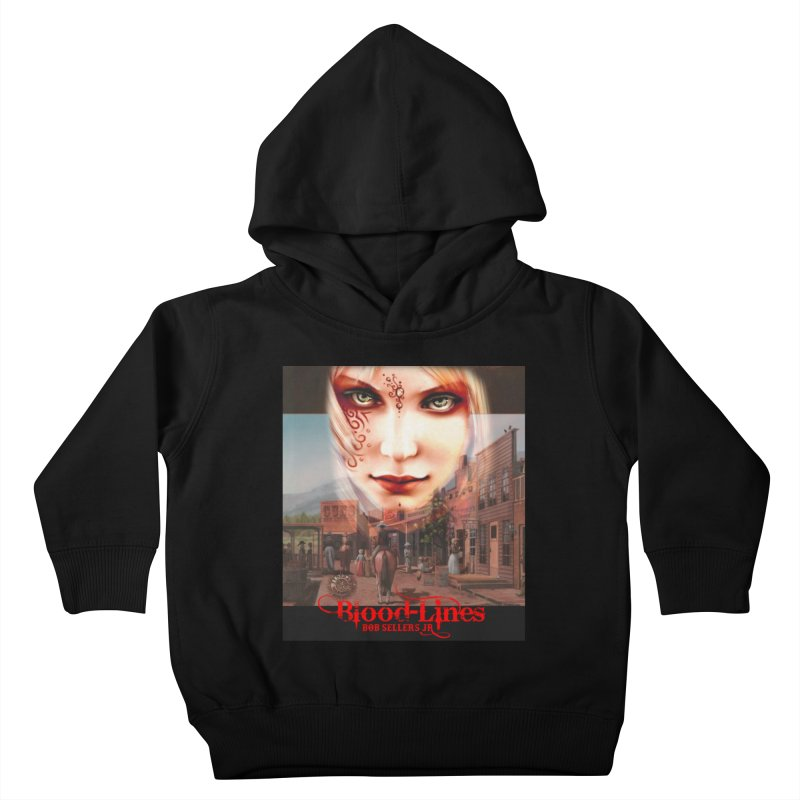 Blood-Lines Kids Toddler Pullover Hoody by sellersjr's Artist Shop