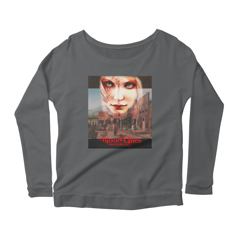 Blood-Lines Women's Scoop Neck Longsleeve T-Shirt by sellersjr's Artist Shop