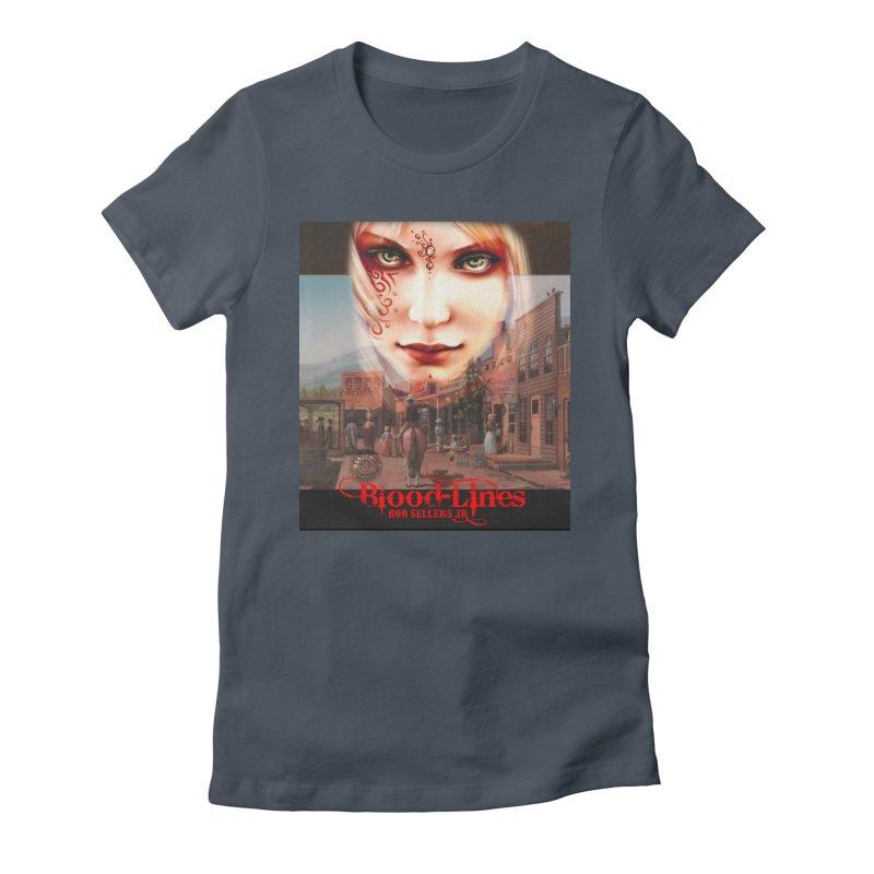 Blood-Lines Women's T-Shirt by sellersjr's Artist Shop