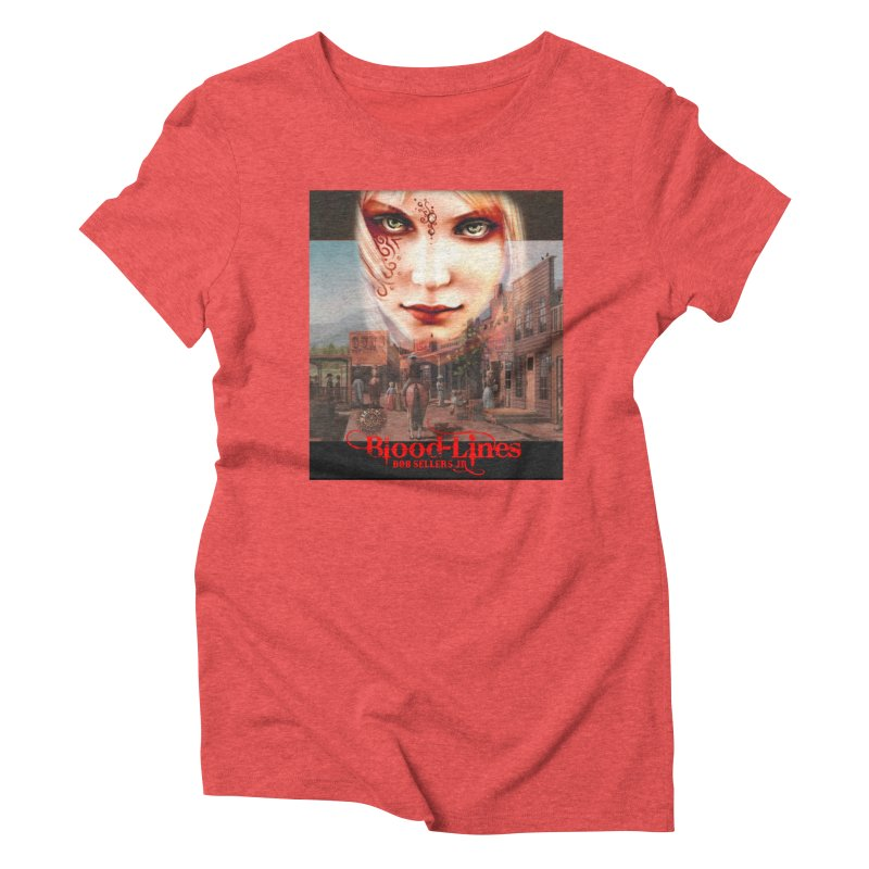 Blood-Lines Women's Triblend T-Shirt by sellersjr's Artist Shop