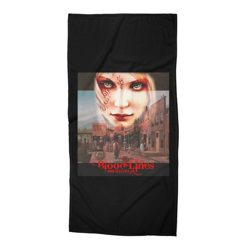 Blood-Lines Accessories Beach Towel by sellersjr's Artist Shop
