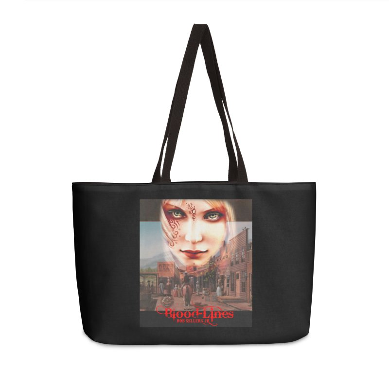 Blood-Lines Accessories Weekender Bag Bag by sellersjr's Artist Shop