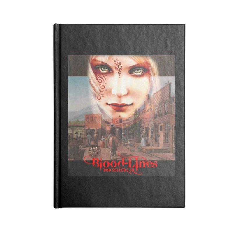 Blood-Lines Accessories Blank Journal Notebook by sellersjr's Artist Shop