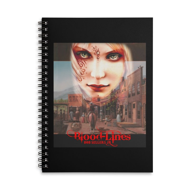 Blood-Lines Accessories Lined Spiral Notebook by sellersjr's Artist Shop