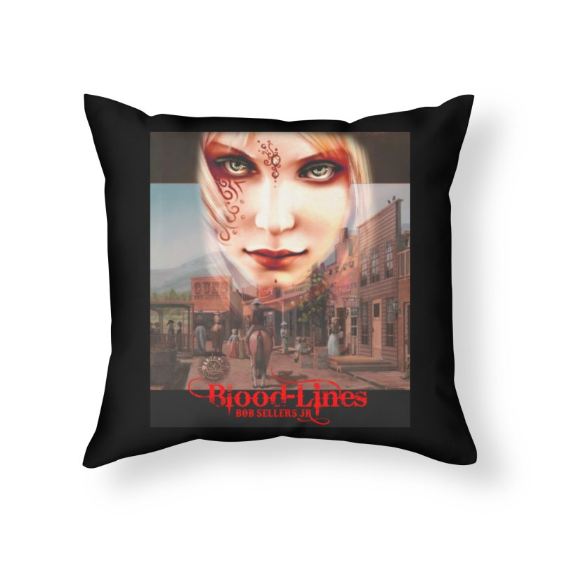 Blood-Lines Home Throw Pillow by sellersjr's Artist Shop
