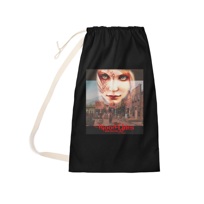 Blood-Lines Accessories Laundry Bag Bag by sellersjr's Artist Shop