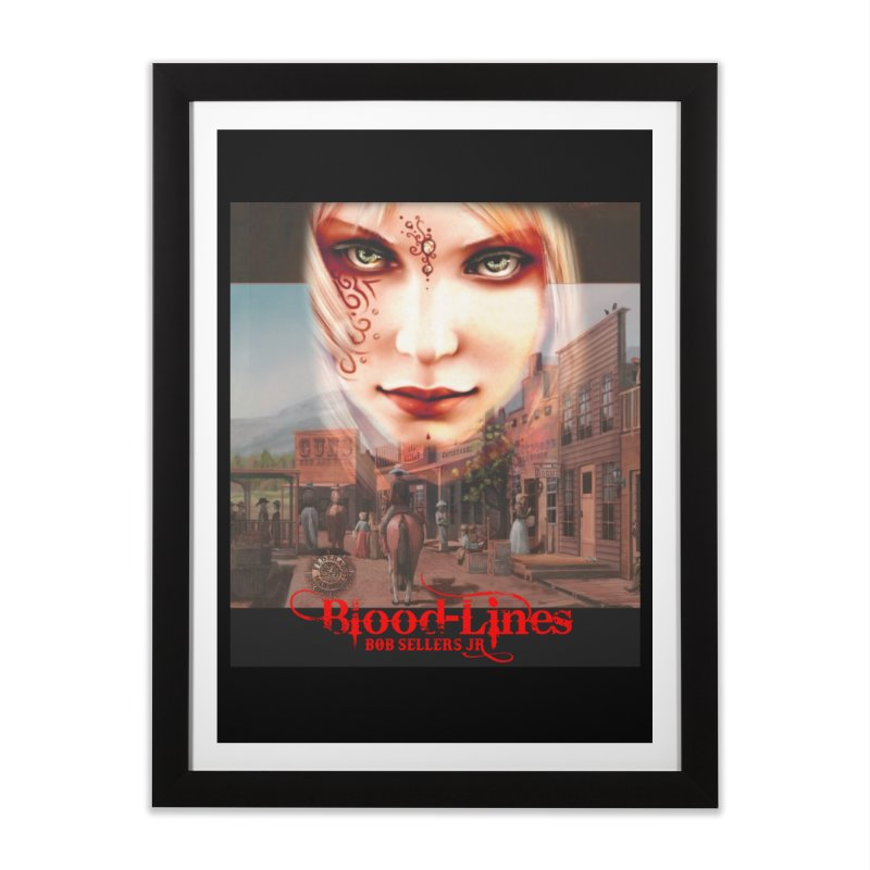 Blood-Lines Home Framed Fine Art Print by sellersjr's Artist Shop