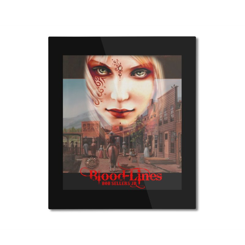 Blood-Lines Home Mounted Aluminum Print by sellersjr's Artist Shop