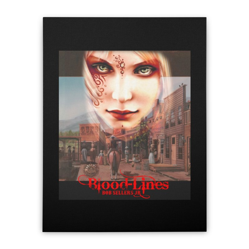 Blood-Lines Home Stretched Canvas by sellersjr's Artist Shop