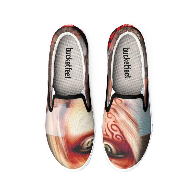 Blood-Lines Men's Shoes by sellersjr's Artist Shop