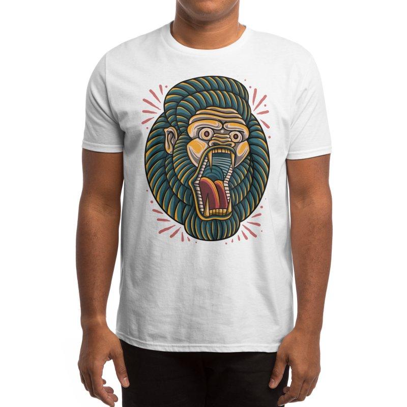 Tropical gorila Men's T-Shirt by semartigagelas's Artist Shop