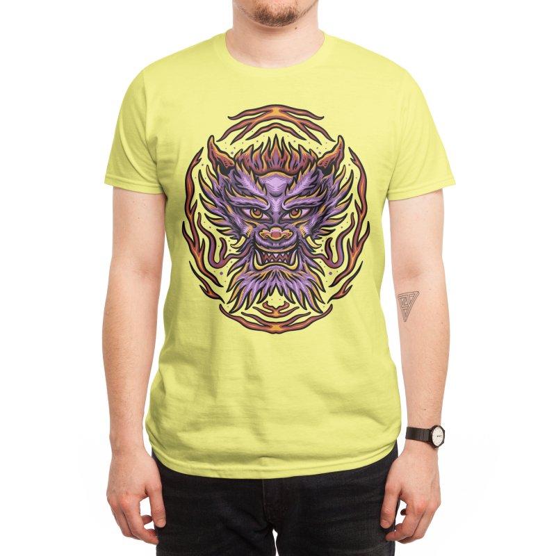 The dragon Men's T-Shirt by semartigagelas's Artist Shop