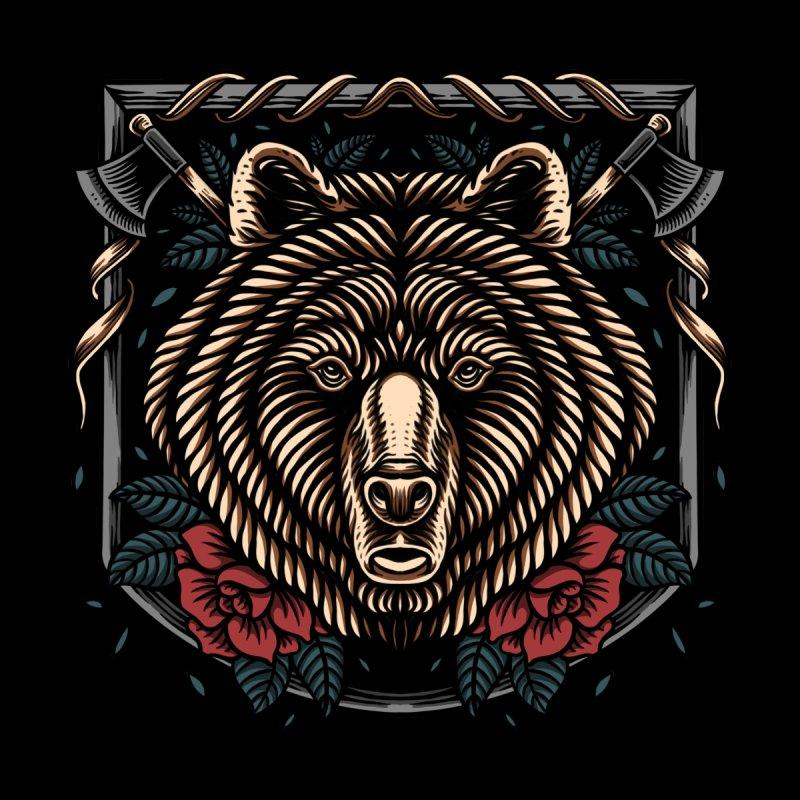 The bear Men's T-Shirt by semartigagelas's Artist Shop