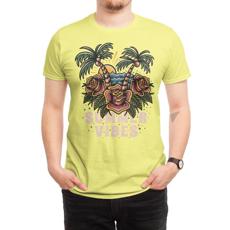 Summer vibes Men's T-Shirt by semartigagelas's Artist Shop