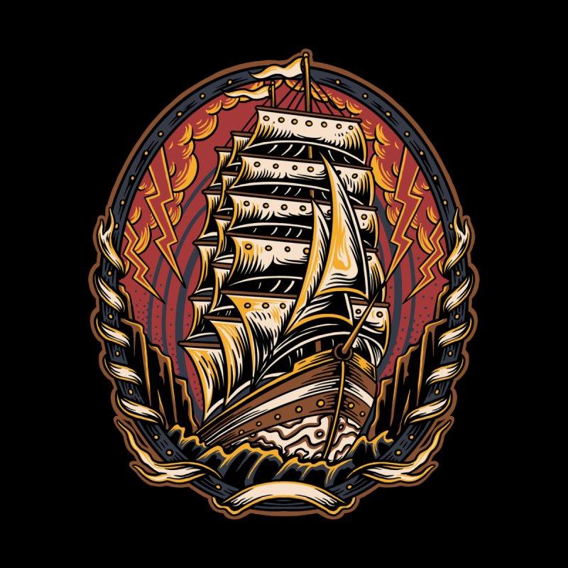 Strong old ship Men's T-Shirt by semartigagelas's Artist Shop