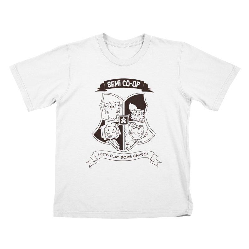 Semi Co-op Sigil Kids T-Shirt by Semi Co-op