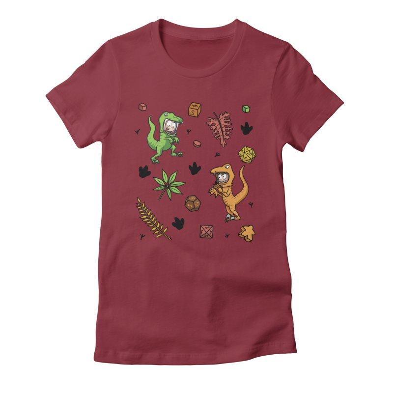 Stomping Gamers Women's T-Shirt by Semi Co-op