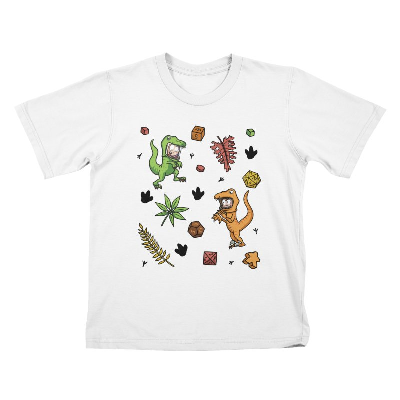 Stomping Gamers Kids T-Shirt by Semi Co-op