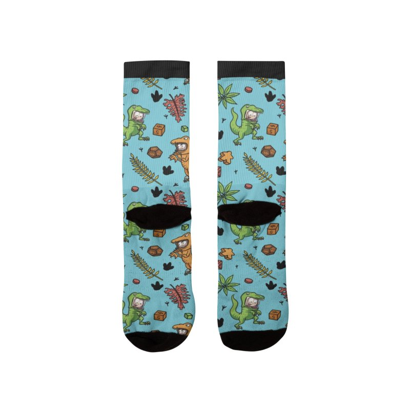 Stomping Gamers Men's Socks by Semi Co-op