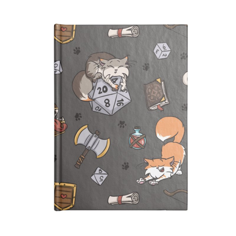Dungeons and Kitties Accessories Notebook by Semi Co-op
