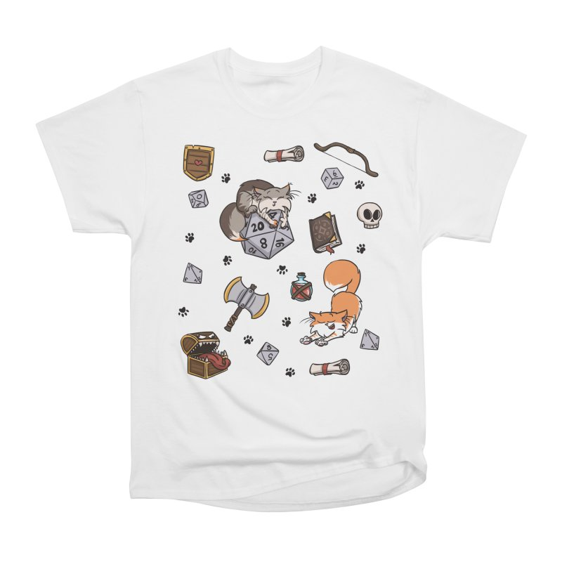 Dungeons and Kitties Women's T-Shirt by Semi Co-op