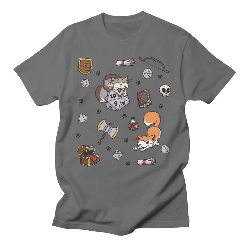 Dungeons and Kitties Men's T-Shirt by Semi Co-op