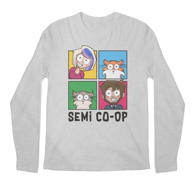 Board game Bunch! (light) Men's Longsleeve T-Shirt by Semi Co-op