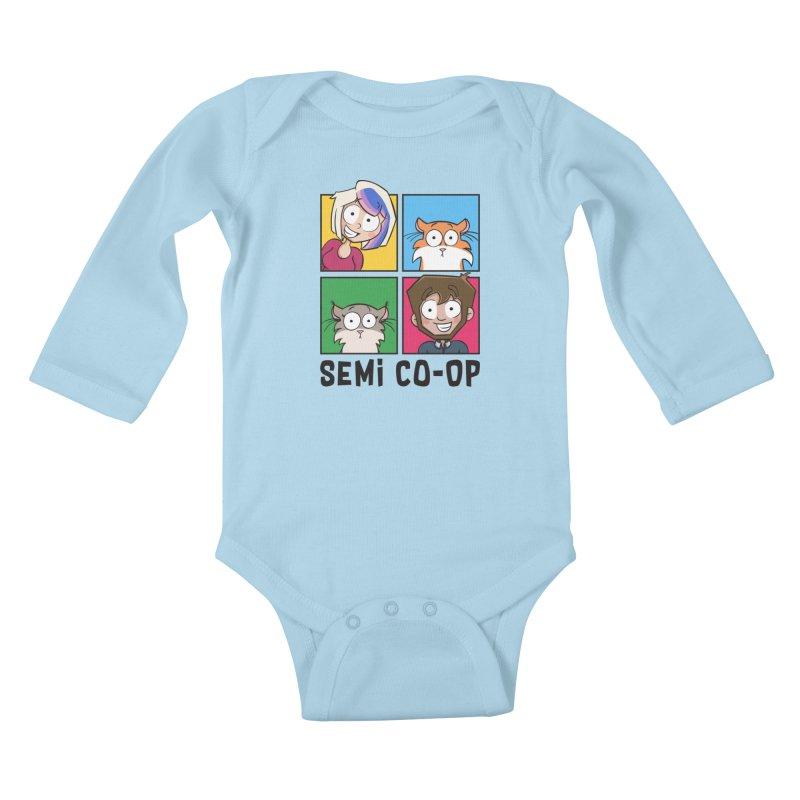 Board game Bunch! (light) Kids Baby Longsleeve Bodysuit by Semi Co-op