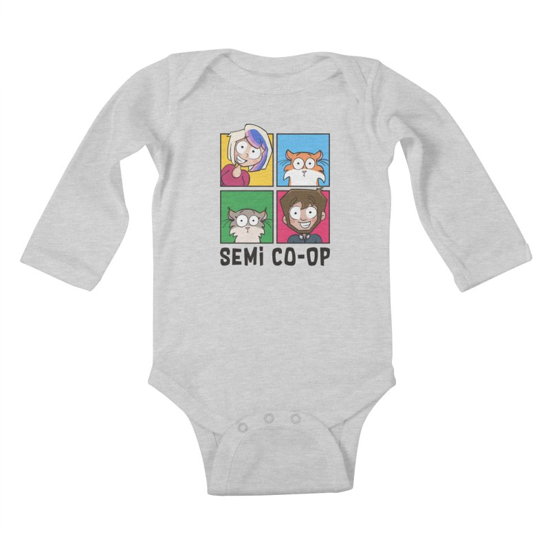 Board game Bunch! (light) Kids Baby Longsleeve Bodysuit by Semi Co-op