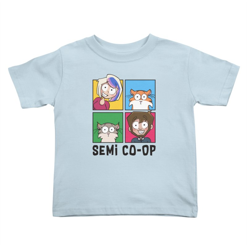 Board game Bunch! (light) Kids Toddler T-Shirt by Semi Co-op