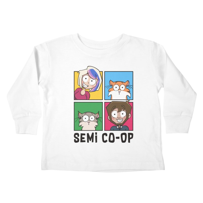 Board game Bunch! (light) Kids Toddler Longsleeve T-Shirt by Semi Co-op
