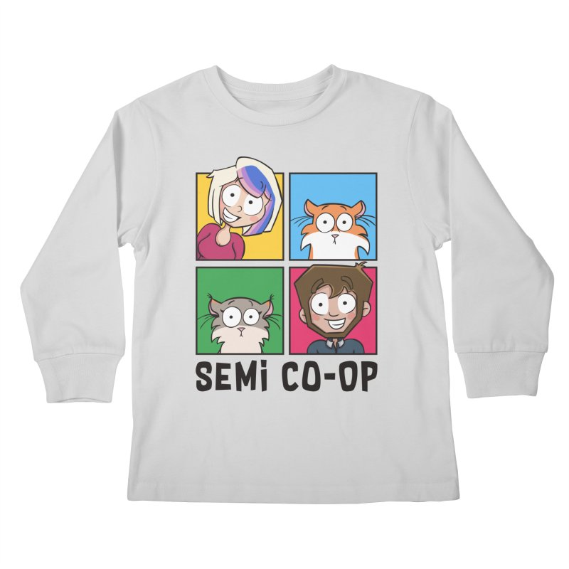 Board game Bunch! (light) Kids Longsleeve T-Shirt by Semi Co-op