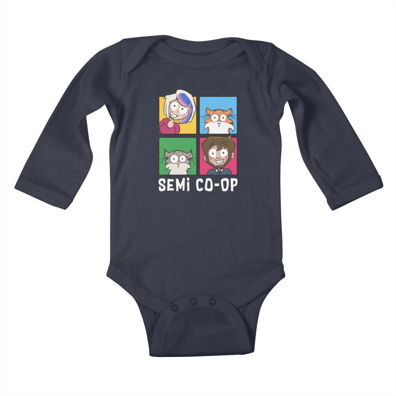 Board game Bunch! Kids Baby Longsleeve Bodysuit by Semi Co-op