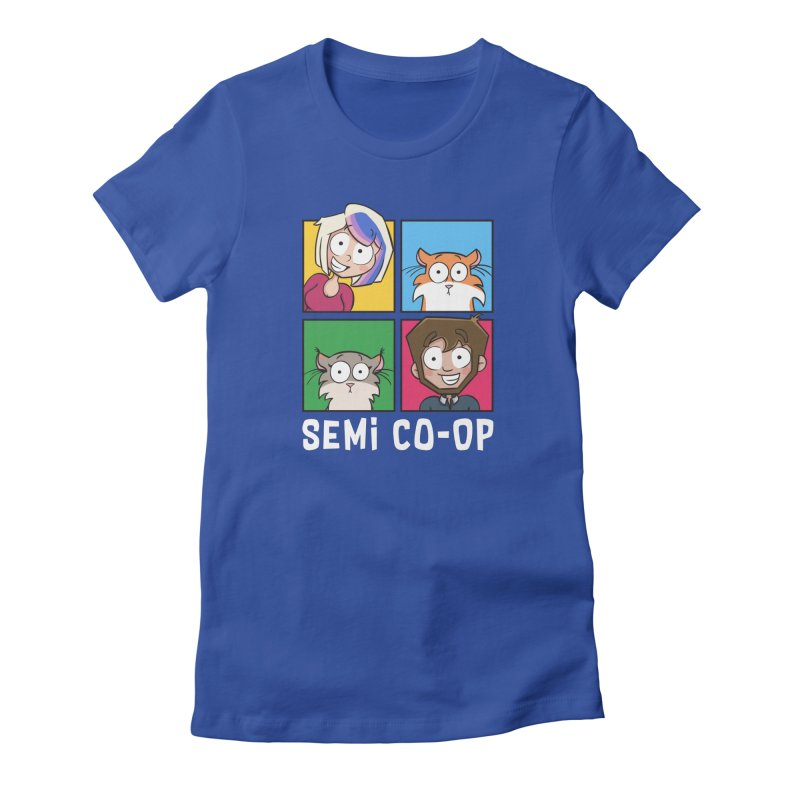Board game Bunch! Women's T-Shirt by Semi Co-op