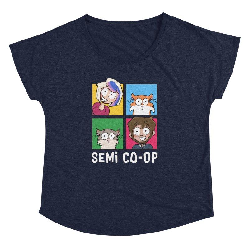 Board game Bunch! Women's Scoop Neck by Semi Co-op