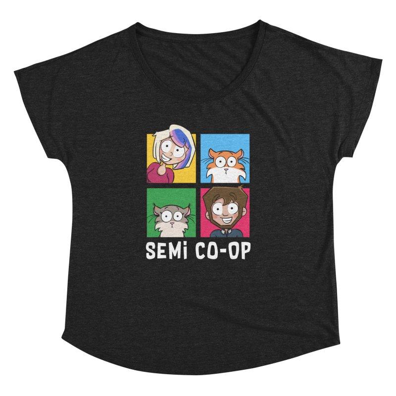 Board game Bunch! Women's Dolman Scoop Neck by Semi Co-op