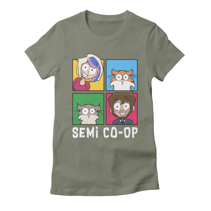 Board game Bunch! Women's T-Shirt by Semi Co-op