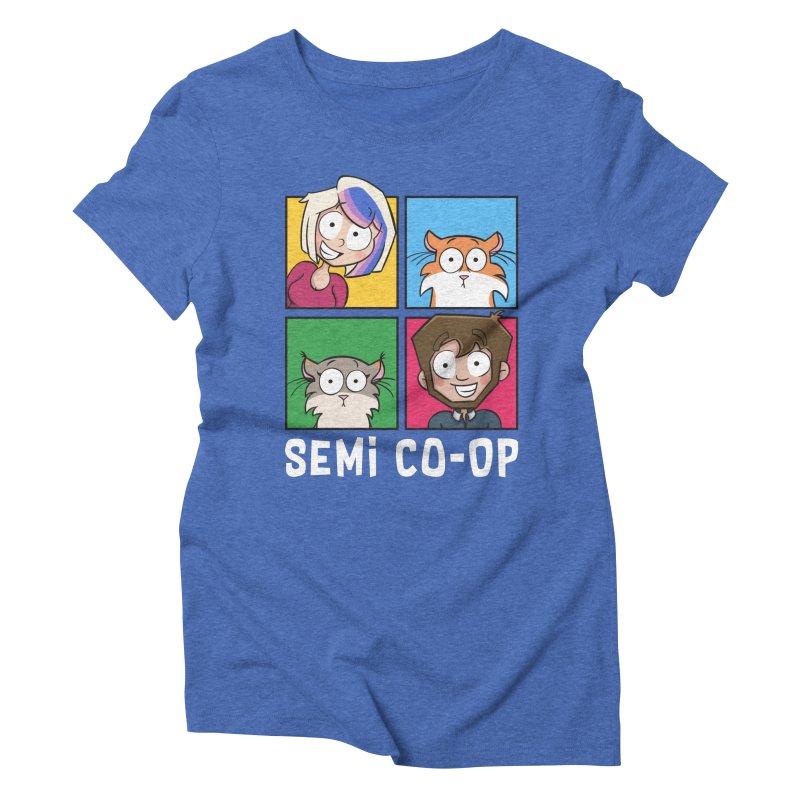 Board game Bunch! Women's Triblend T-Shirt by Semi Co-op
