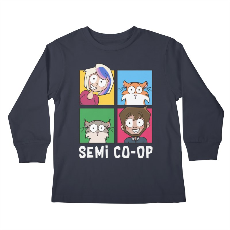 Board game Bunch! Kids Longsleeve T-Shirt by Semi Co-op