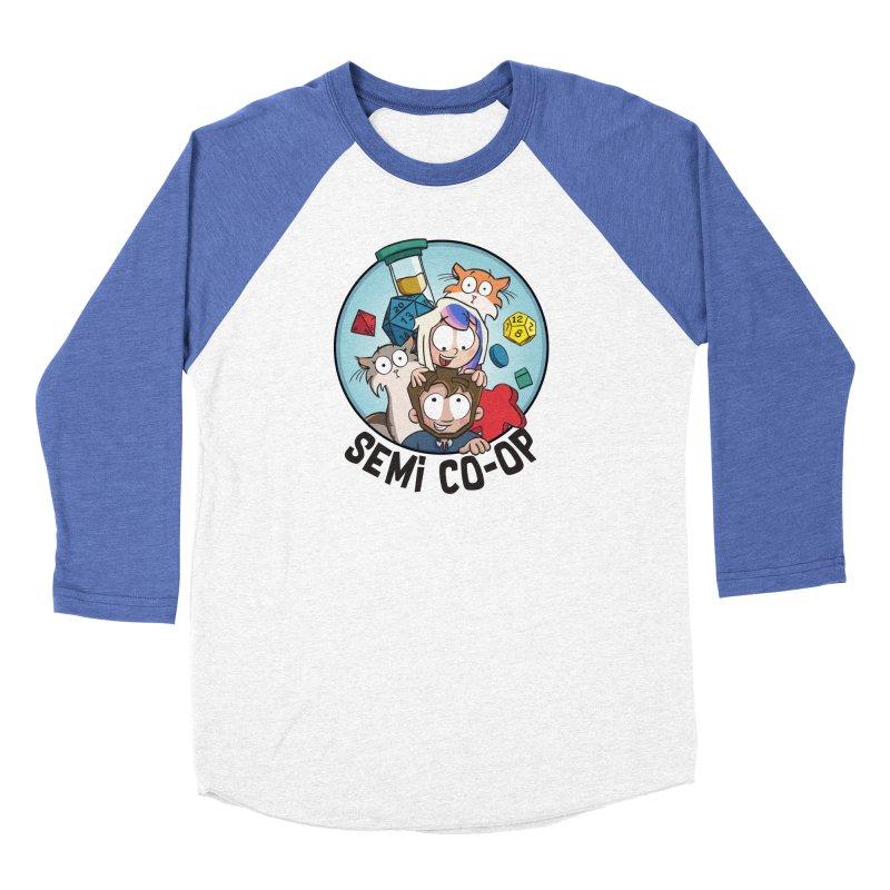 Semi Co-op Circle (light) Women's Longsleeve T-Shirt by Semi Co-op